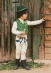 """Young Székely boy in Parajd, Székelyföld (Erdély), goes """"sprinkling"""" - Húsvét Székelyföldön"""