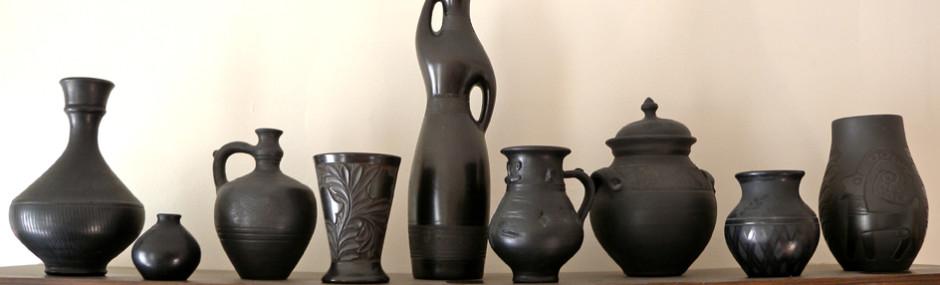 Fekete kerámia Zalától Háromszékig - Hungarian Black Pottery